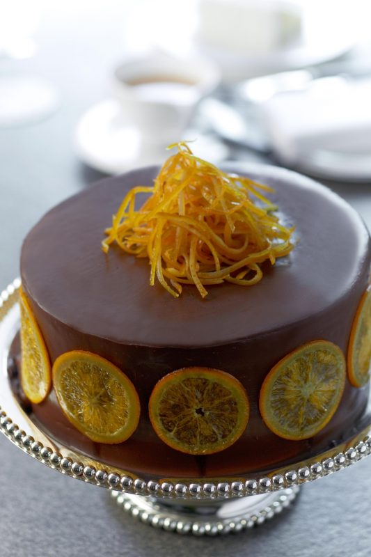 chocolate-fudge-cake-with-orange-marmalade