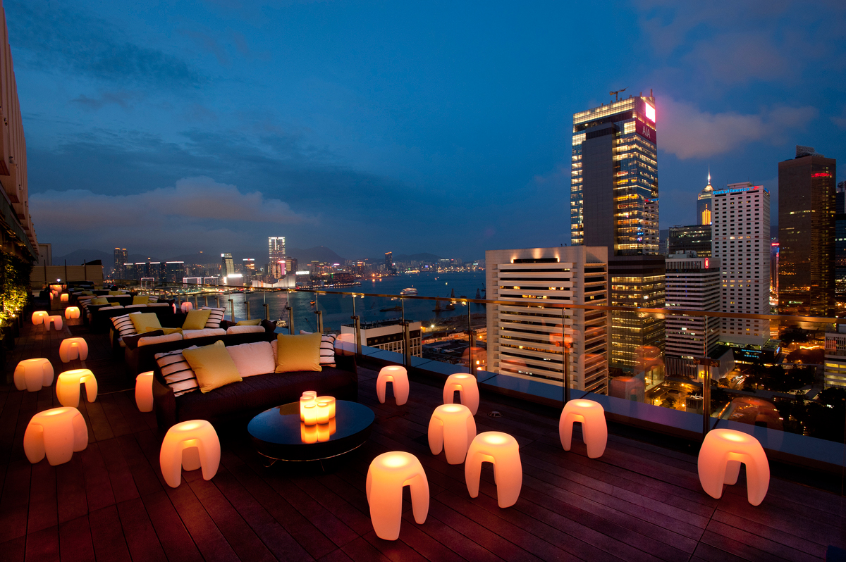 Hong Kong's Best Rooftop Bars With A View - China Travel Blogs